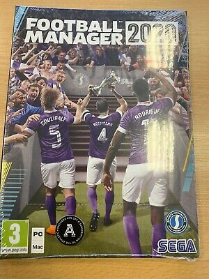 Football Manager Game 2020 Brand New