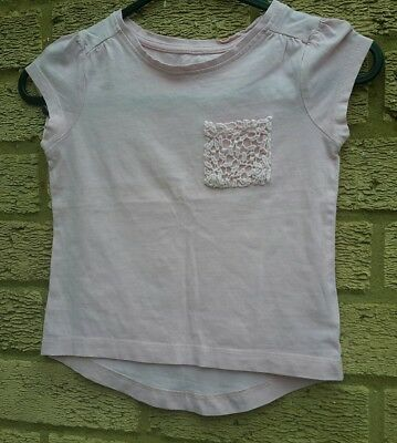 Mothercare girls t Shirt aged 2 - 3 year's pink