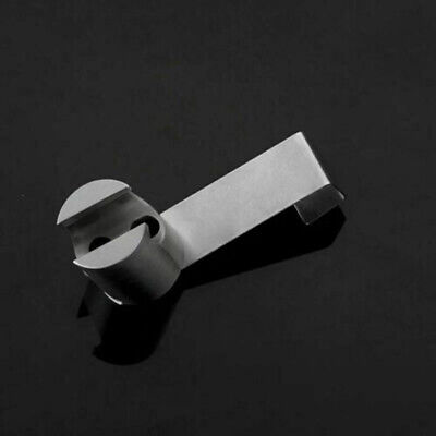 Toilet Holder Brushed Nickel Wall mounted Bathroom Hanger Hook Durable