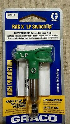 Graco RAC X LP415 SwitchTip Low Pressure reversible  spray tip