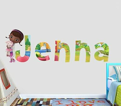 Care Bears Custom Name 3D Wall Decal Kids Sticker Decor Vinyl Mural VICK82