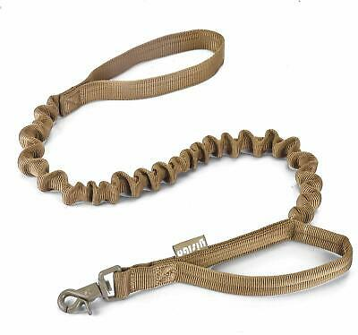 K9 Dog Leash Police Tactical Training Heavy Duty Nylon Bungee Military w/Handle