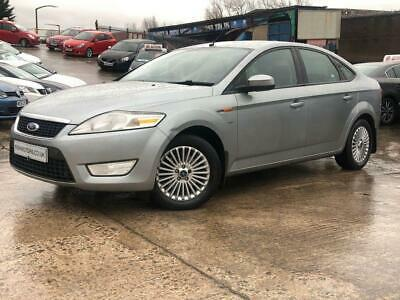 2007 57 Ford Mondeo 2.0 Zetec Tdci 5D 140Bhp Diesel Silver Climate+Cruise+Media+