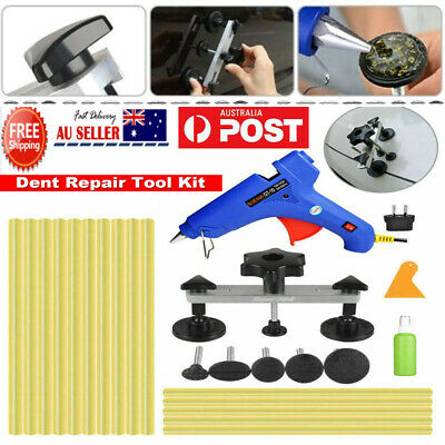 PDR Tools Paintless Dent Removal Hail Removal Puller Bridge Glue Gun Stick Kit R