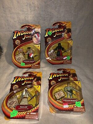 Indiana Jones Raiders Of The Lost Ark Action Figures Lot Sealed