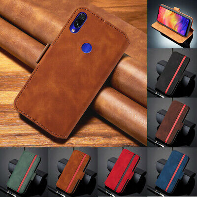 For Xiaomi Redmi 6A 7A 8A Note 8 7 Pro Flip Leather Magnetic Wallet Case Cover