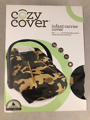 Cozy Cover Infant Carrier Cover Camo Color Car Seat Baby Car Seat Rain Snow Cold