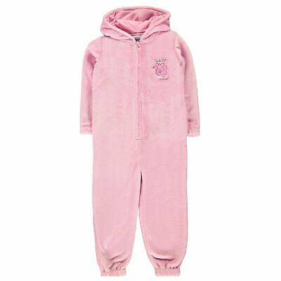 My Little Pony Snug One Piece Pyjama Suit Girls Character Wear Pink All In One