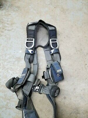 DBI SALA Exofit Med  Safety Harness w/ Trauma Strap Construction Fall Protection