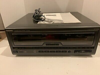 Technics Model SL-MC60 Compact Disc Changer Holds 60+1 Discs Tested Works