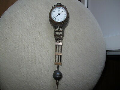 FOR JUNGHANS MOVEMENT CENTER ARBOR  SWINGING CLOCK not original Dont work