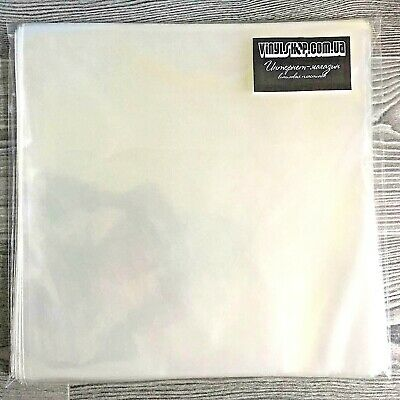 """25 pcs. Vinyl Plastic Record Sleeves 12"""" (Outer) for LPs - Standard Sizing"""