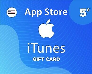 Apple App Store & iTunes $ 5 Gift Card (Not physical)