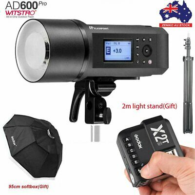 AU Godox AD600Pro 600W TTL Outdoor Flash+X2T-S Trigger For Sony+95cm Softbox Kit