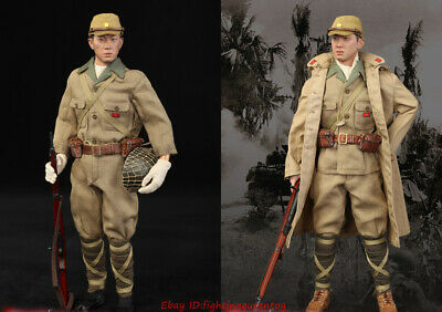 3R DID 1//6 WWII Imperial Japanese Army 32nd Army 24th Division Hayashi Head