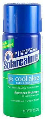 Solarcaine COOL Aloe BURN Relief SPRAY ~ Sunburns ~Minor Burns/Cuts~Insect Bites
