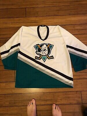 Vintage Hockey Jersey Mighty Ducks CCM XL