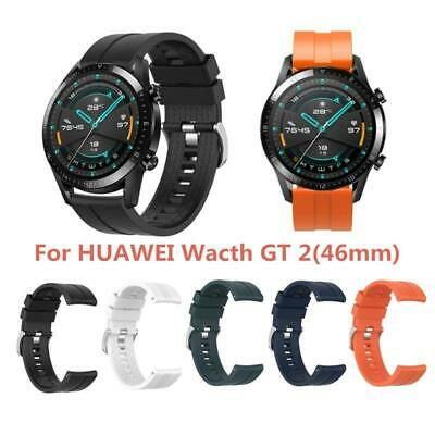 Sport Wristband Silicone Watch Strap for Huawei Watch GT2 46mm Gear S3 Classic n