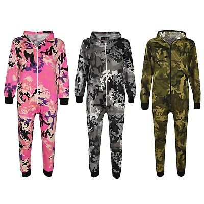 Kids Boys Girls Camouflage Designer's 100% Cotton A2Z Onesie One Piece Jumpsuit