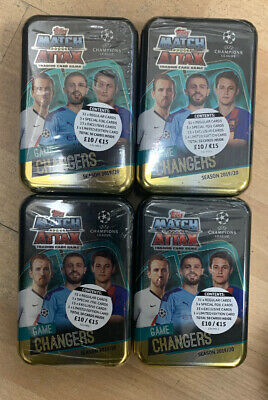 Match Attax Uefa Champions League Game Changers - 2019/20 Mega Tins - Brand New