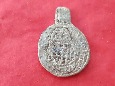Very rare Post Medieval official Royal lead seal. Please read description. L367