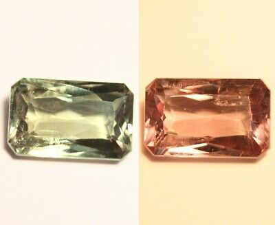 5.4ct Colour Change Turkish Diaspore - AAA Top Grade Diaspore - Emerald Cut