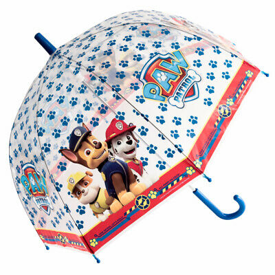 Nickelodeon's Paw Patrol Children's See-Through Dome Umbrella