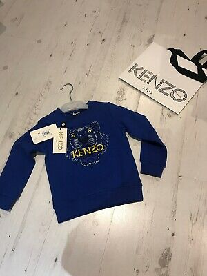 Kenzo Tiger Jumper New With Tags Age 6 Years