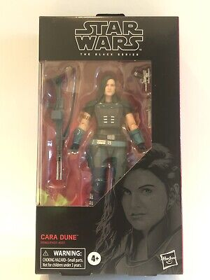 Star Wars The Black Series Cara Dune,6-Inch, #101,Hasbro,Mandalorian,Disney MINT