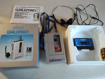 Sony Wm-F1 Walkman Cassette Player Radio (Unused)
