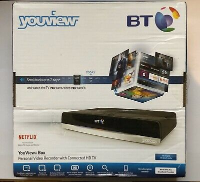 BT YouView Smart 500GB Freeview HD Digital TV Recorder DTR T2110