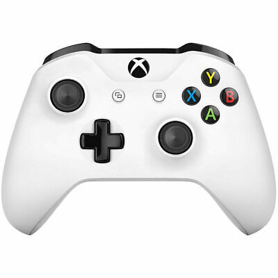 Microsoft Official Xbox One S Wireless Controller - White