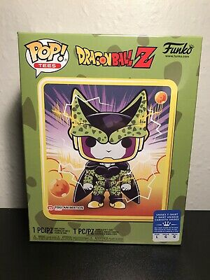 Funko Pop! Dragon Ball Z Perfect Cell Box~ Sealed~ Gamestop Exclusve Large Tee