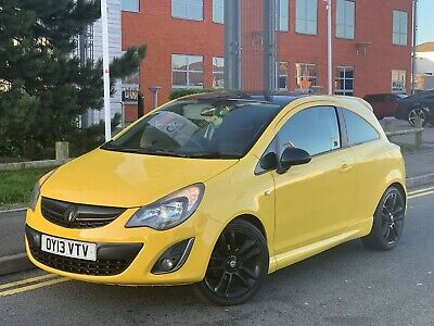 2013 Vauxhall Corsa Limited Edition 1.2 Petrol 1 Prev Owner 51Mpg Very Low Miles