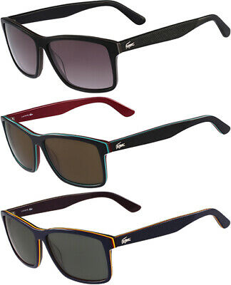 L683S 414 Lacoste Petite Pique Men/'s Soft Square Classic Sunglasses
