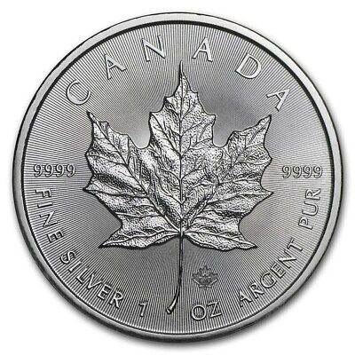CANADA 5 Dollars Argent 1 Once Maple Leaf 2020
