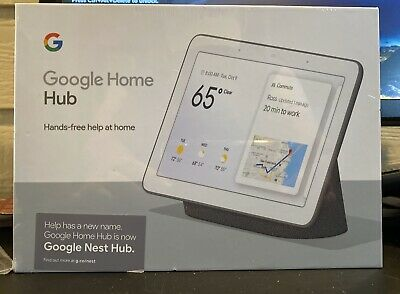 Google Home Hub with Google Assistant - GA00515-US Brand New, unopened!
