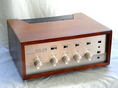 Rare Vintage KLH Sixteen Integrated Amplifier - Fully Serviced