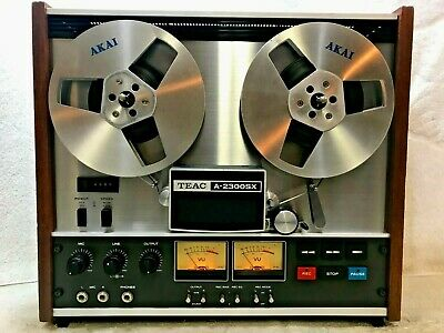 Teac A-2300Sx Stereo Tape Deck Reel-To-Reel - Fantastic !!!