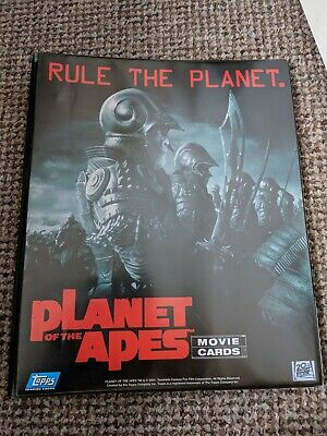 Planet of the Apes Trading Card Album officially licensed 3-ring Binder