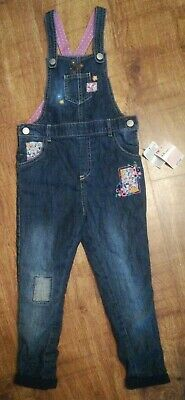 BNWT Girl Mothercare Autumn/Winter dungarees 4-5 years