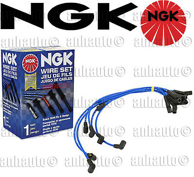 NGK HE82 High Performance Spark Plug Wire Set /& 4-Pieces NGK ZFR5F11 Spark Plugs