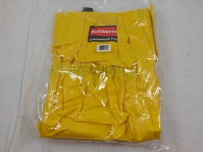 NEW Rubbermaid Yellow Brute Caddy Bag 2642 Janitorial Bag Round Sealed