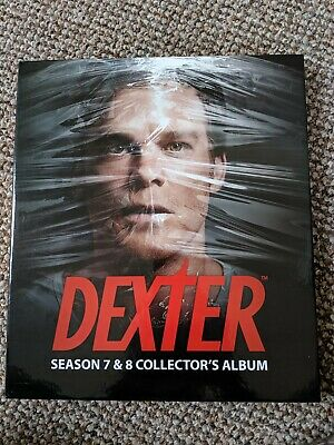 Dexter Season 7 And 8 Official Trading Card Binder