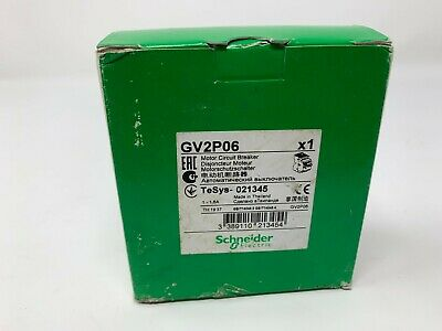 NEW Schneider Electric GV2 P06 Motor Circuit Breaker Fast Free Shipping!