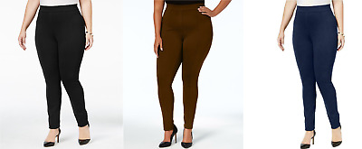 Style & Co. Women's Plus Size Seamed Mid-Rise Comfort Leggings, Assorted Colors
