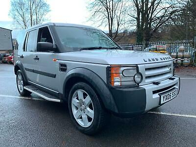 2005 Land Rover Discovery 3 2.7TD V6 AUTOMATIC 7 SEATER 4X4, ONE OWNER FROM NEW