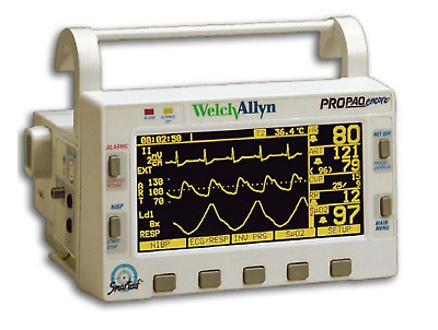 Welch Allyn ProPaq Encore Patient Monitors