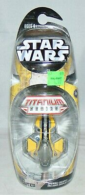 New Hasbro Star Wars Titanium Series Die Cast Jedi Starfighter Anakin Sealed