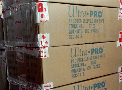 1 x Case Ultra Pro Clear Soft Penny Card Protectors 100 Packs 10000 Sleeves